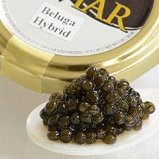 Beluga Hybrid Caviar - Malossol, Farm Raised