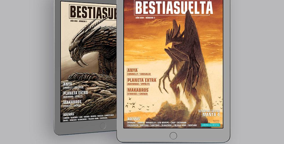 Bestia Suelta ( 6 números) - PDF y CBR