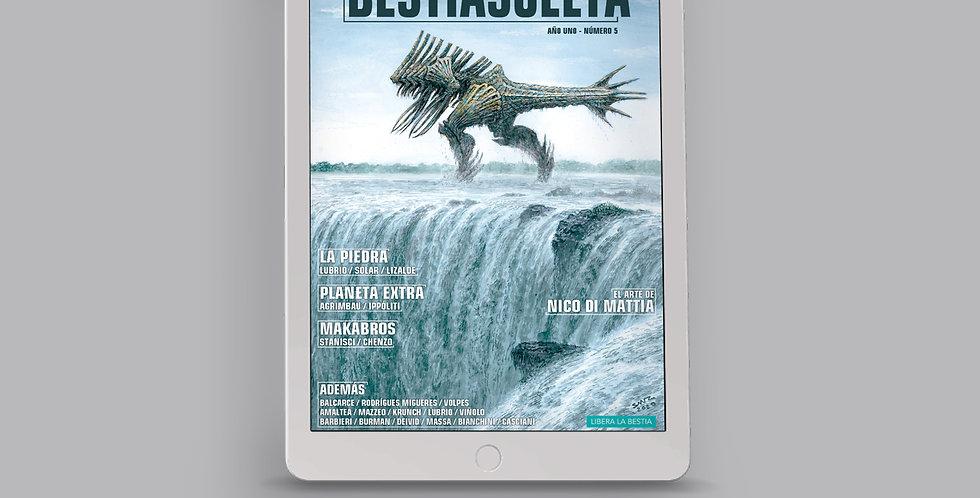 Bestia Suelta Número 05 - PDF y CBR