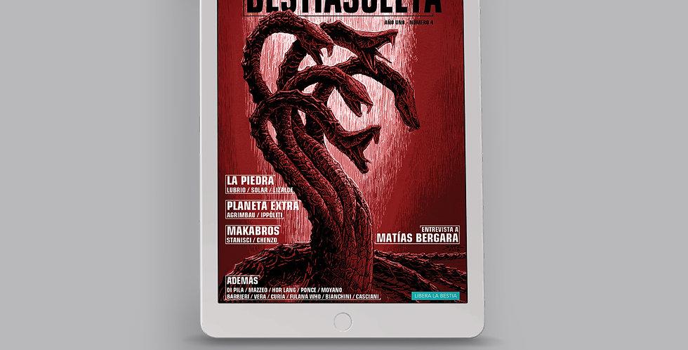 Bestia Suelta Número 04 - PDF y CBR