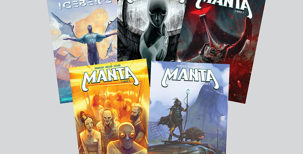 Pack ICEBERG + MANTA - Digital PDF y CBR