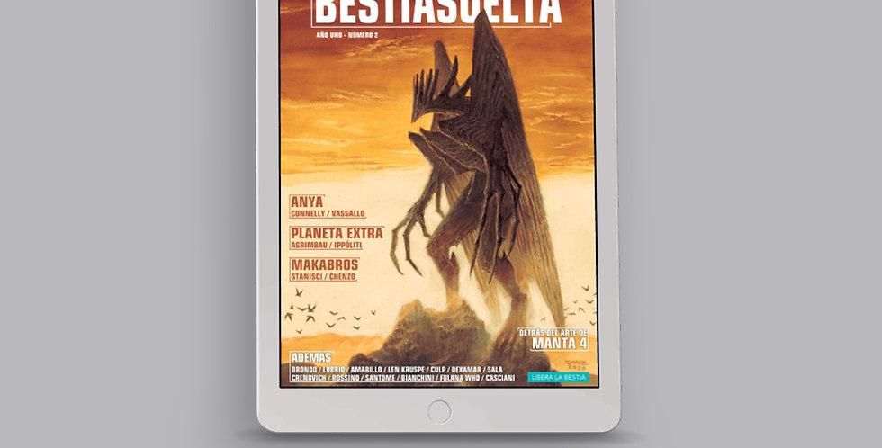 Bestia Suelta Número 02 - PDF y CBR
