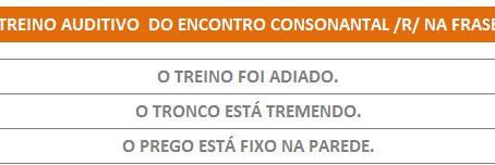 MANUAL DA PLANILHA DE FONOAUDIOLOGIA TREINO DO ENCONTRO CONSONANTAL R