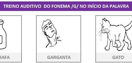 MANUAL DA PLANILHA DE FONOAUDIOLOGIA TREINO DO FONEMA G