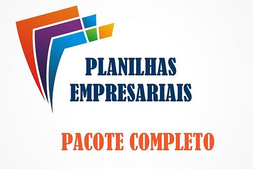 Pacote de Planilhas Empresariais