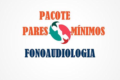 Pacote de Fonoaudiologia - Pares Mínimos