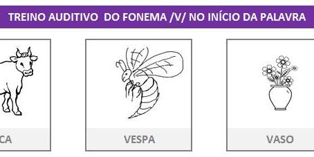 MANUAL DA PLANILHA DE FONOAUDIOLOGIA TREINO DO FONEMA V