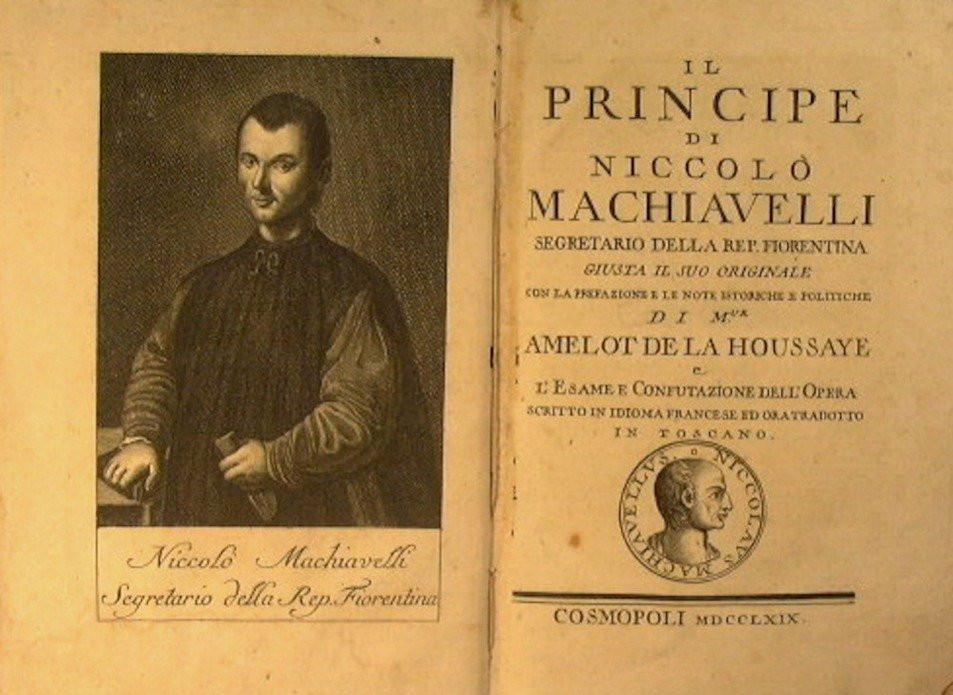 Quais foram as lições de Maquiavel?