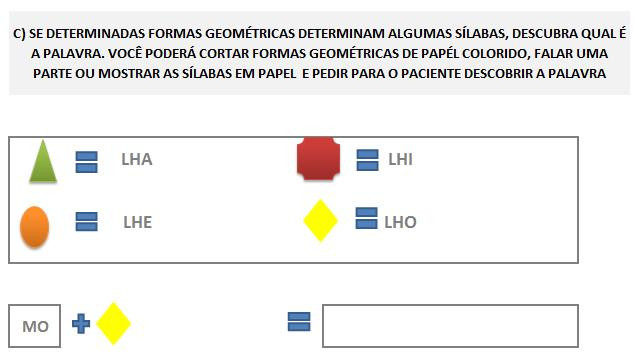 Fonoaudiologia treino do fonema LH