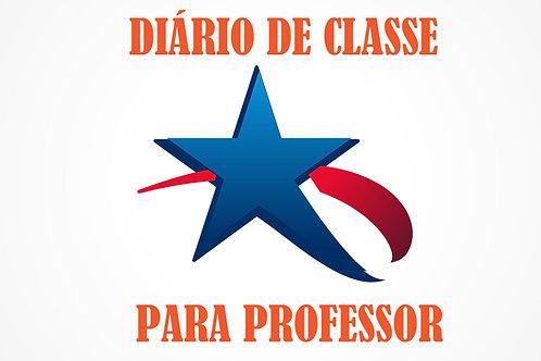 Planilha da Diário de Classe do Professor