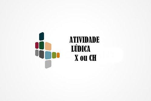 Planilha de Atividade Lúdica ch/x