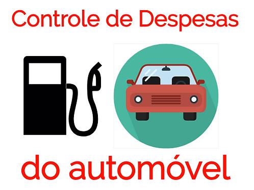 Planilha de Gestão de Despesas com Automóvel