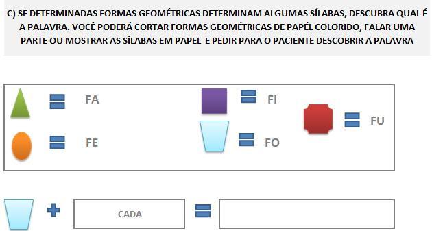 Fonoaudiologia treino do fonema F