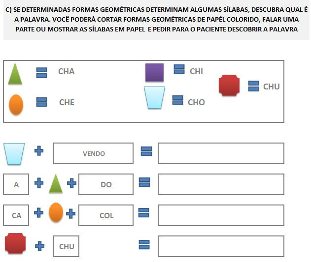 Fonoaudiologia treino do fonema CH