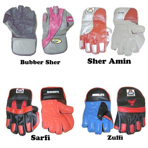 Malik Keeping Gloves