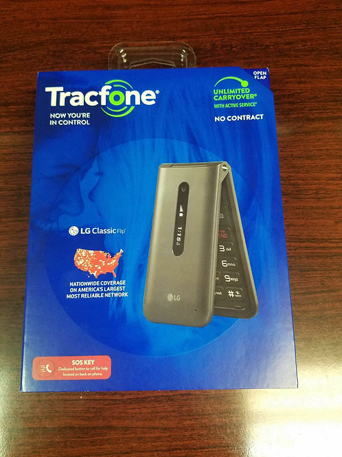 LG Classic Flip 4G Cell Phone For Tracfone PagePlus Selectel Wireless