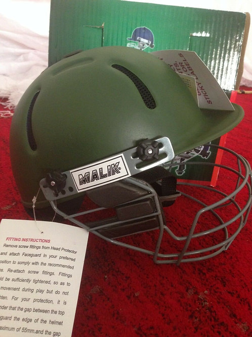 Malik Cricket Helmet