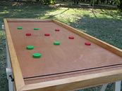 table cible élastique