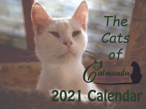 Cute 2021 Catmandu Calendar