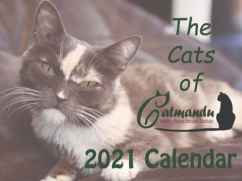 Artsy 2021 Catmandu Calendar