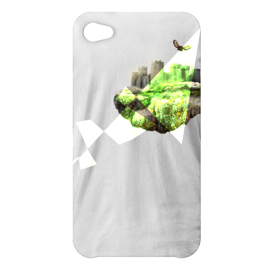 Floating Castle iPhone Cover