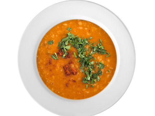 PUREe Red Lentil & Coconut Soup in Recyclable Paper Cup