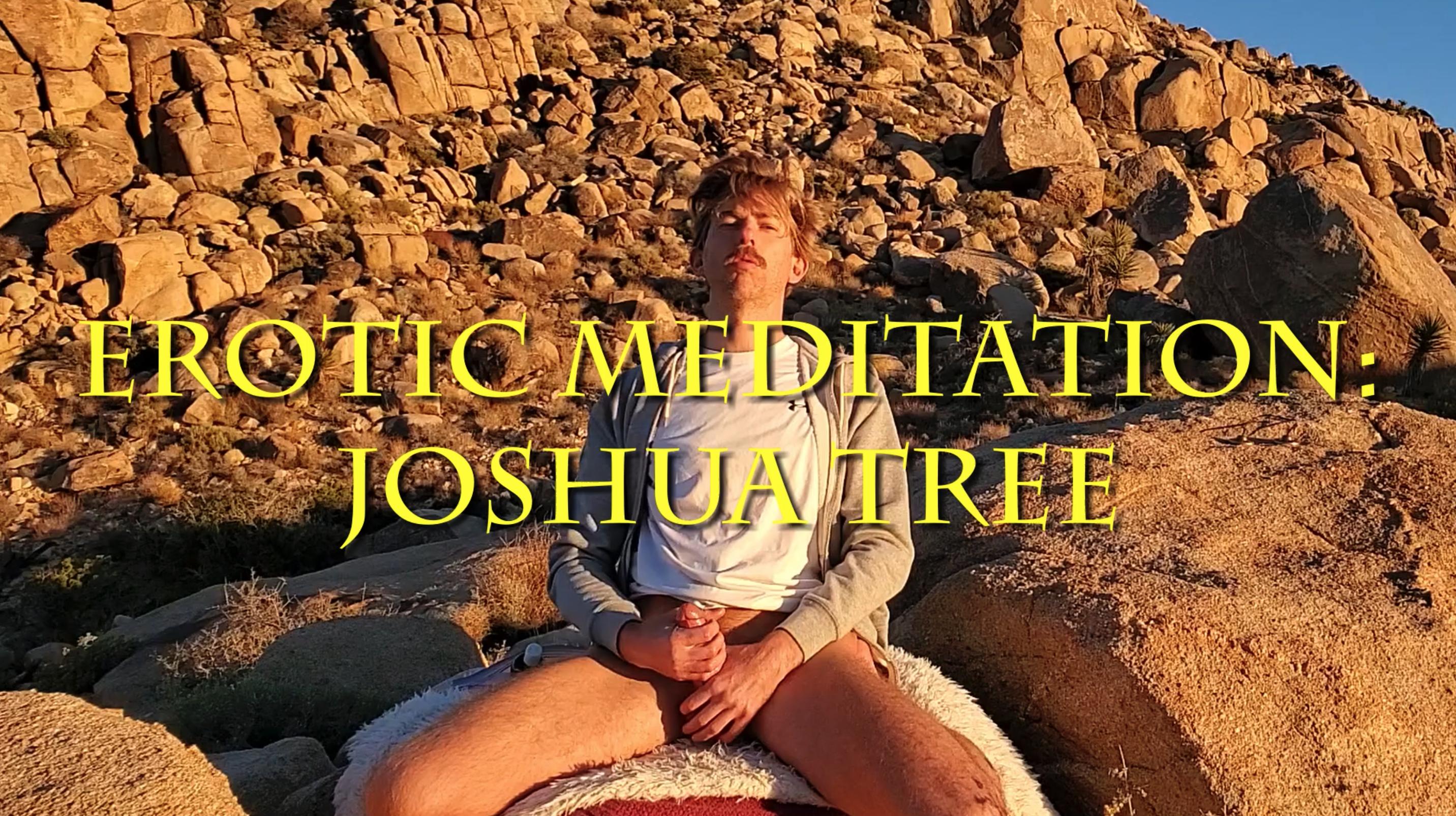 Erotic Meditation: Joshua Tree