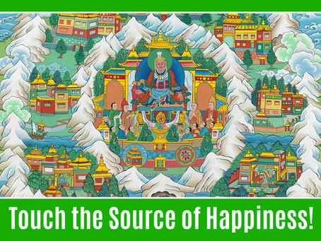 Touch the Source of Happiness!