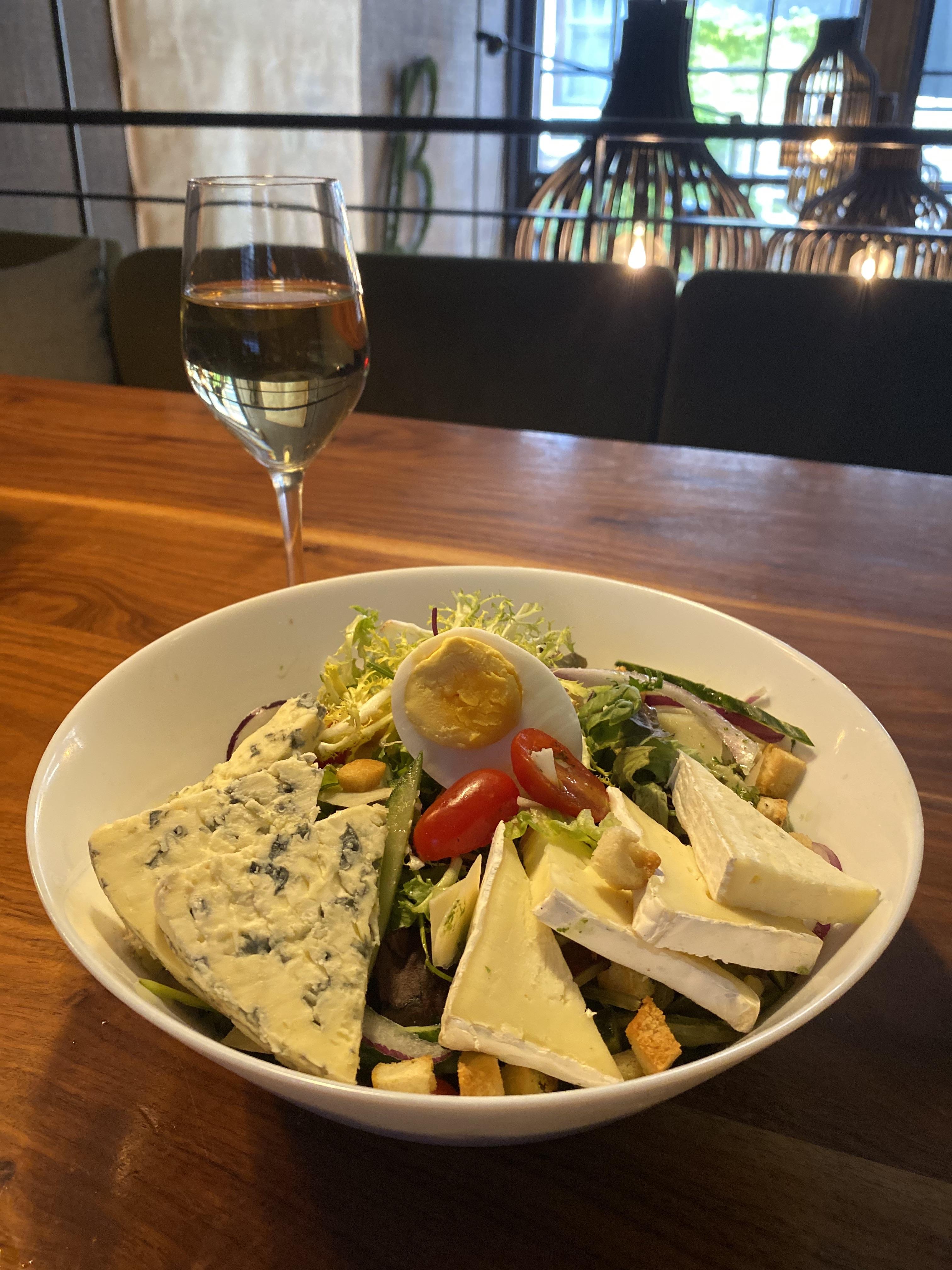 salade kaasjes