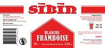 Sibin Blanche Framboise