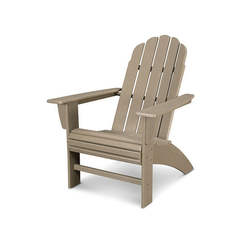 Vineyard Curveback Adirondack Chair in Vintage Finish