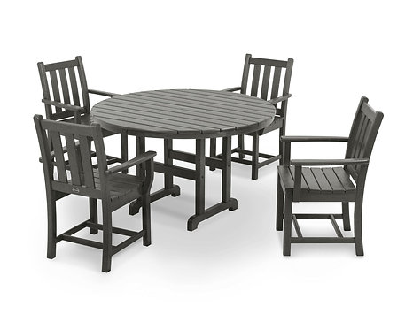 Traditional Garden 5-Piece Dining Set