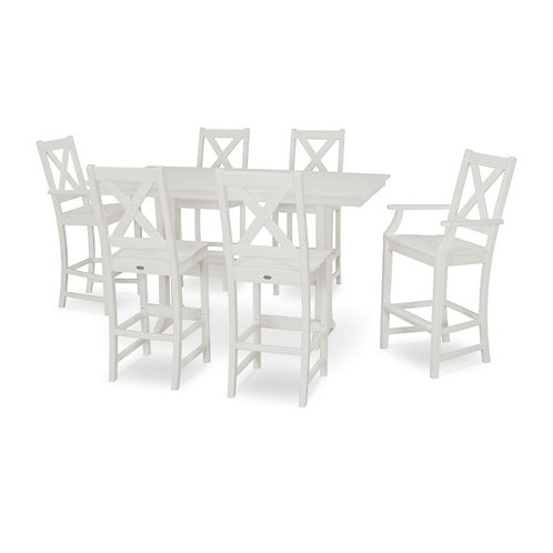 Braxton 7-Piece Farmhouse Bar Set