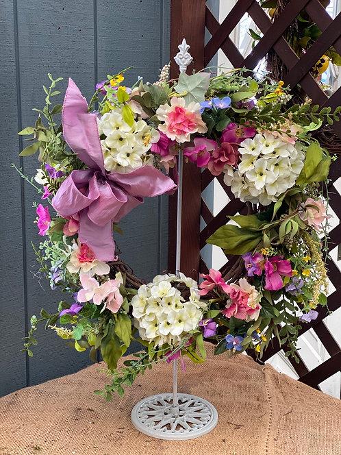 Lilac Love Decorative Wreath