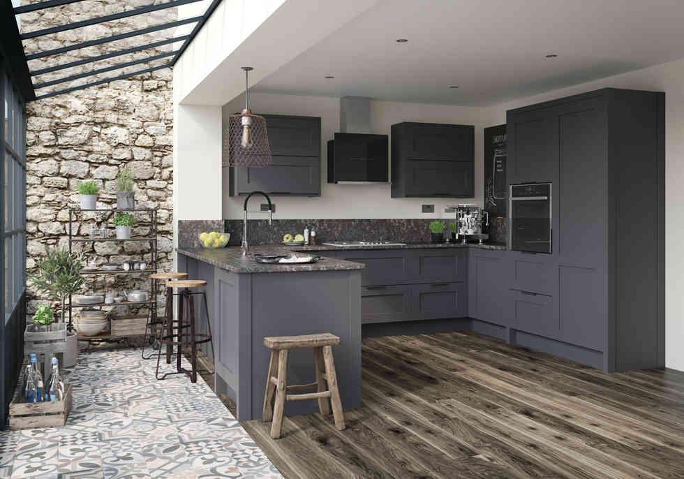 Mornington Shaker kitchen Graphite