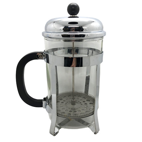 12 Cup Stainless Steel Cafetiere
