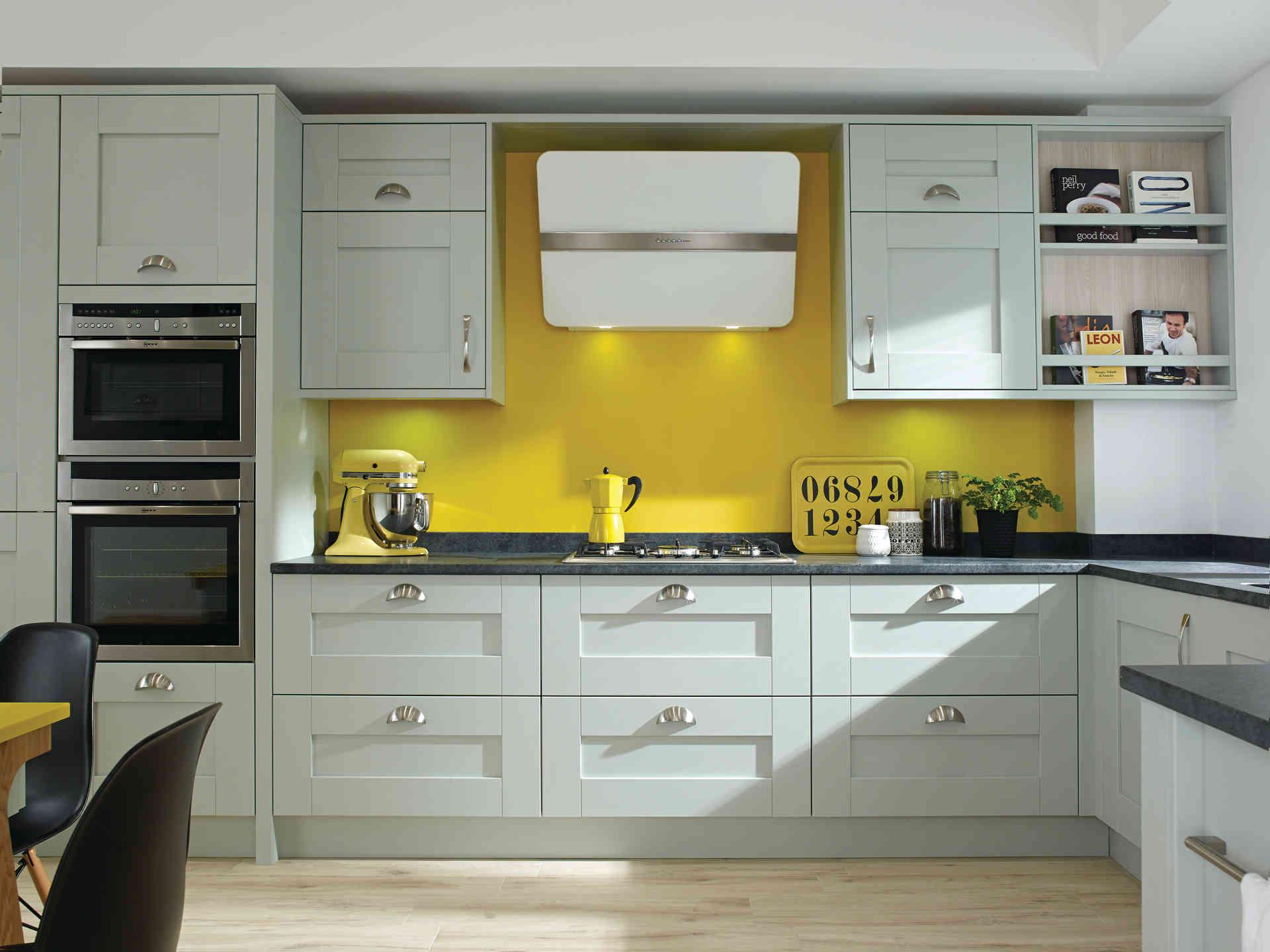 Milbourne kitchen Partridge Grey