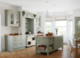 Baystone kitchen Bespoke Colour Windsor