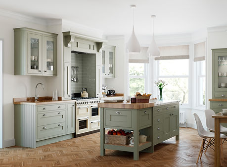 Baystone kitchen Bespoke Colour Windsor