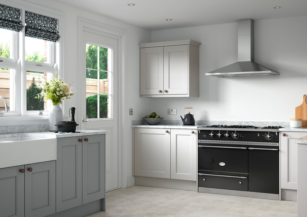Classic Shaker Style Fitted Kitchen