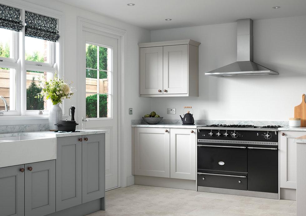 Neutral Shaker Style Kitchen