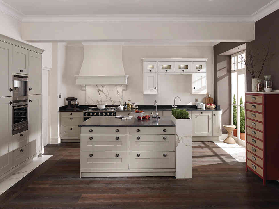 Fitzroy kitchen Porcelain and Stone