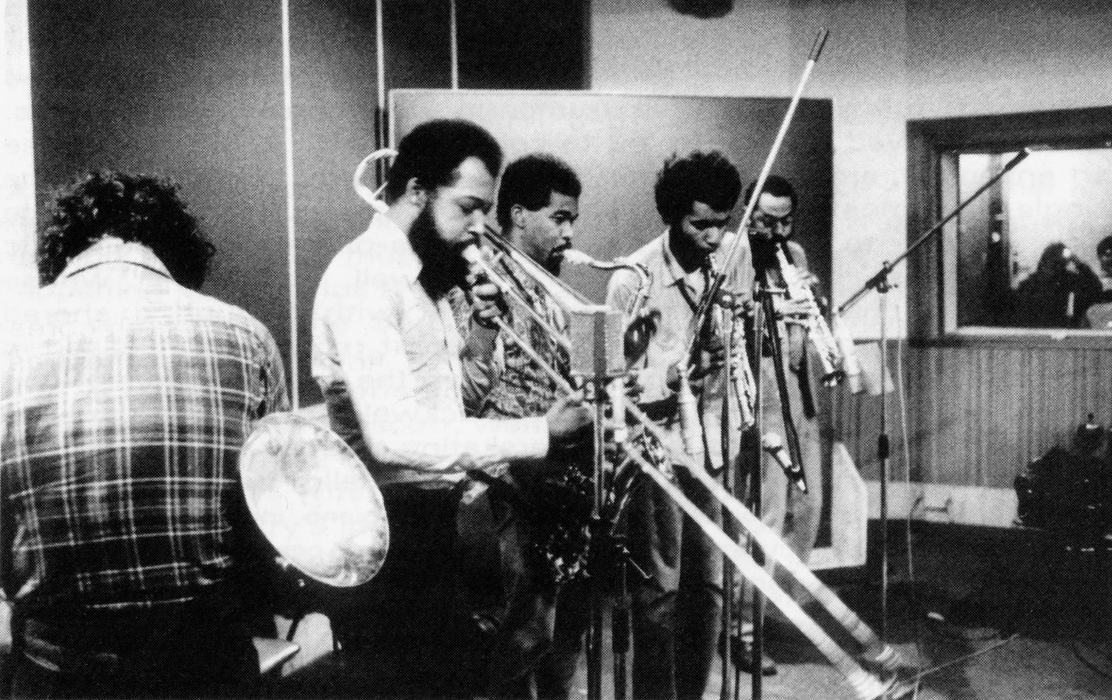 Bernard Vitet, Grachan Moncur III, Kenneth Terroade, Anthony Braxton, Archie Sheep