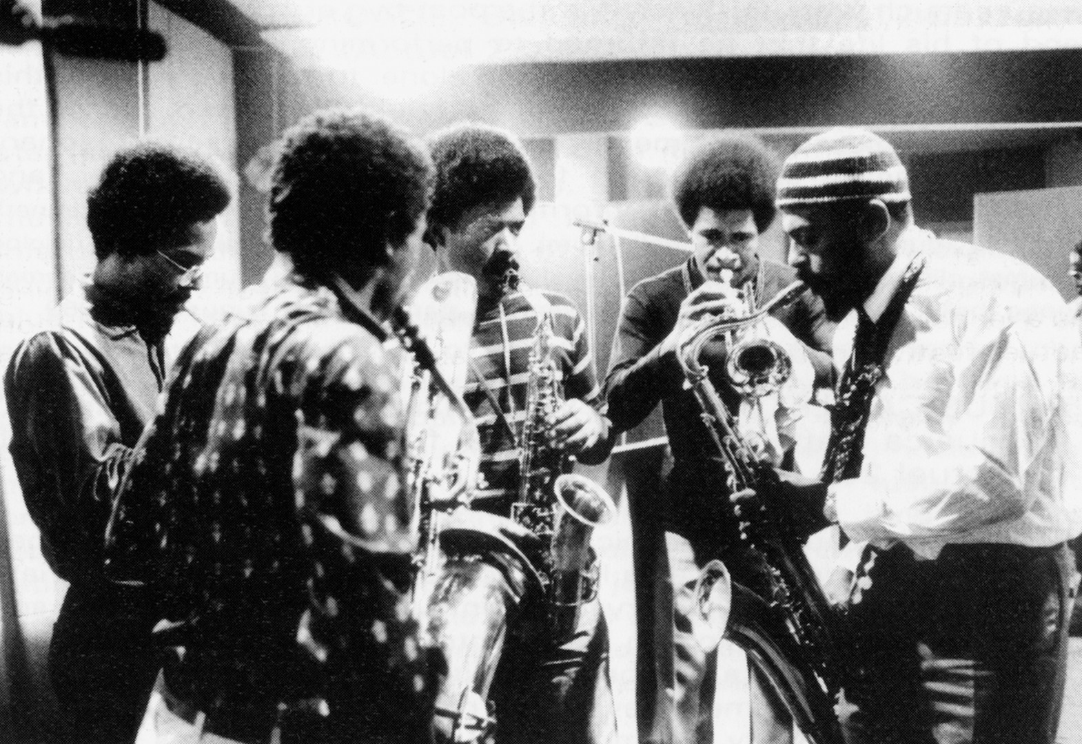 Lester Bowie, Roscoe Mitchell, Arthur Jones, Clifford Thornton, Archie Shepp