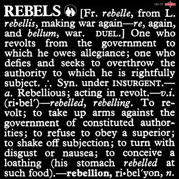 The Rebels  Bernard Fowler - You Can Mak