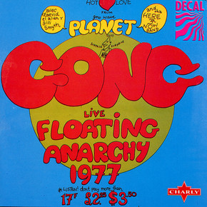 Planet Gong - Floating Anarchy 1977 (Liv
