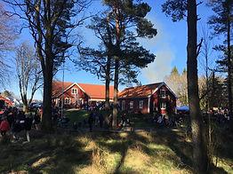 Valborgsfirande hos Öjersjökyrkan