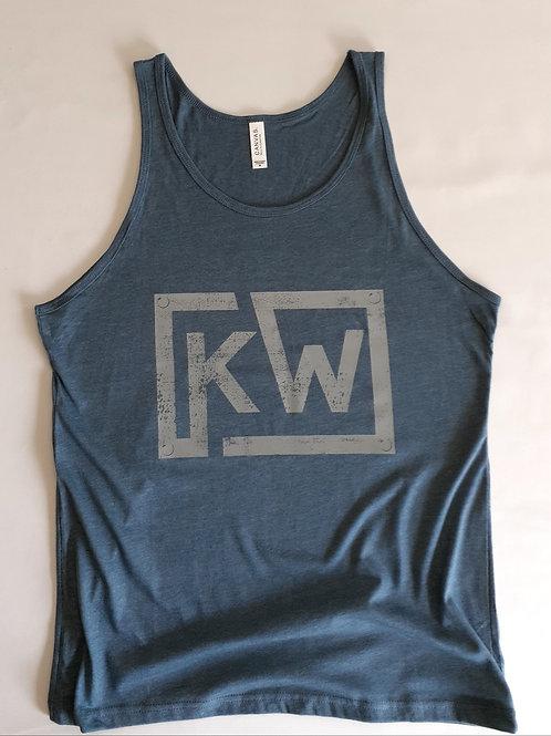 KW Light Blue Mens Tank