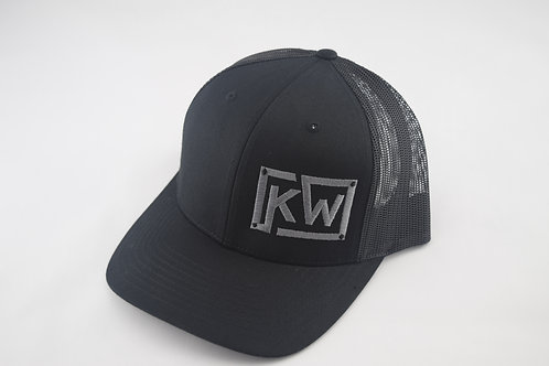 Richardson 110 Black Snap Back