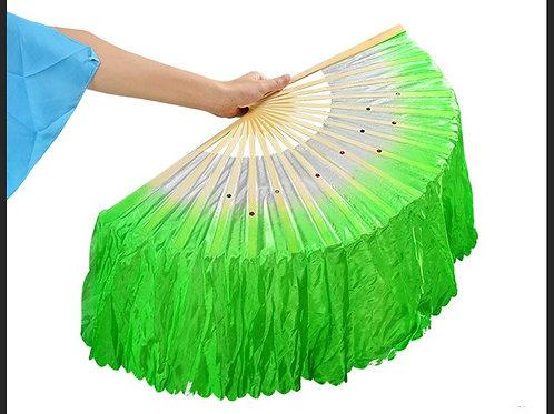 Adult's Dance Fan-Green